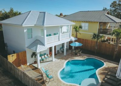 Diamonds in the Sand - Destin Vacation Rental - Overhead View of Your Oasis